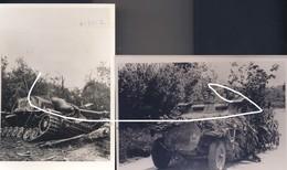15 Blindés Allemands En France En 1944: SdKfz 251 Zone D'invasion Et SG III Détruit à Marigny-Montreuil. Repros - 1939-45