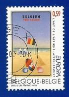 Belgien   2003   Mi.Nr. 3232 , EUROPA CEPT  Plakatkunst - Gestempelt / Fine Used / (o) - Europa-CEPT