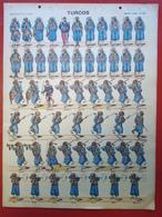 Image D' Epinal Pellerin - Turcos N° 229 - Format 30 X 40 Cm - Vieux Papiers