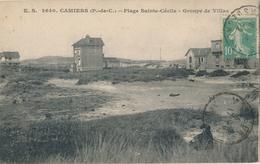 62) CAMIERS : Plage Sainte-Cécile - Groupe De Villas - France