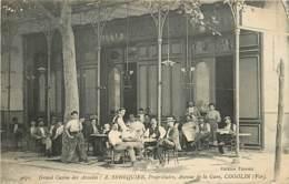 83 , COGOLIN , Grand Casino Des Arcades , A Senequier Avenue De La Gare , * 423 15 - Cogolin