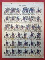 Image D' Epinal Pellerin - Dragons N° 253 - Format 30 X 40 Cm - Vieux Papiers