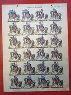 Image D' Epinal Pellerin - Chasseurs D' Afrique N° 258 - Format 30 X 40 Cm - Vieux Papiers