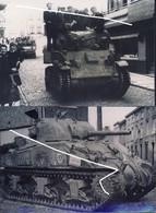 15 Libération De Gosselies En Septembre 1944. Chars US. Repros - 1939-45