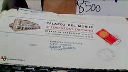 STRADA IN CASENTINO AREZZO DITTA PALAZZO DEL MOBILE VB1970 50 LIRE EUROPA CEPT HC9327 - Arezzo