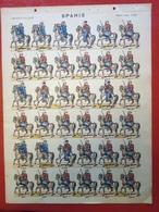 Image D' Epinal Pellerin - Spahis N° 259 - Format 30 X 40 Cm - Vieux Papiers