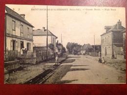 Saint Nicolas D'Aliermont Grande Route RARE - Frankrijk