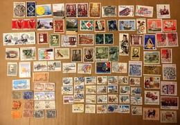 LOT DE 108 TIMBRES OBLITERES EN PAIRES OU SEULS PORTUGAL - Collezioni