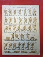 Image D' Epinal Pellerin - Infanterie Turque Au Combat N° 737 - Format 30 X 40 Cm - Old Paper
