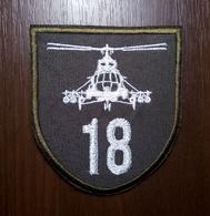 Patch 18th Brigade Of Army Aviation Air Force Of UKRAINE Abzeichen Parche Ecusson - Escudos En Tela