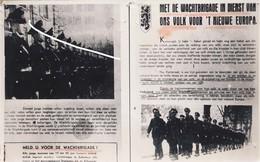 15 Wachtbrigade. Vlaamse Colaboratie. Document Auditoraat Generaal. - 1914-18