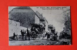 Mens - Boulevard Frédéric Gauthier - Départ Du Courrier De La Mure - Mens
