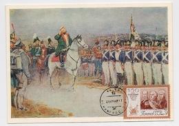 CARTE MAXIMUM CM Card USSR RUSSIA War Napoleon France Cavalry Art Painting Kutuzov General - 1923-1991 USSR