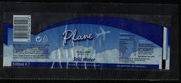 Irlande Étiquette Eau Naturelle Plate Plane The Loop Natural Still Water - Etiquettes