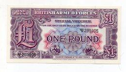 Regno Unito - One Pound - Forze Armate Britanniche - 2^ Serie - Nuova - Vedi Foto - (FDC15191) - Forze Armate Britanniche & Docuementi Speciali