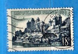 France °- 1955 - Touristique. Yvert.1040 . Oblitéré. Vedi Descrizione. - Gebraucht