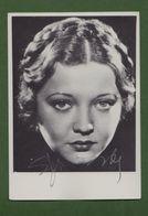 SYLVIA SIDNEY  AUTOGRAPHE / AUTOGRAMM  Original Signed Photo 10 X 15 Cm - Autographes