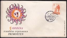 Yugoslavia Croatia Primosten 1965 / Internacia Esperanto Somerumejo / 5th Ann. Of Primosten Observatory - Esperanto