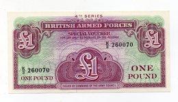 Regno Unito - One Pound - Forze Armate Britanniche - 4^ Serie - Nuova - Vedi Foto - (FDC15192) - Forze Armate Britanniche & Docuementi Speciali