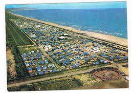 """Entre SETE Et AGDE  34  Vue Aerienne Camping """" Le Castellas """". 1971 - France"""