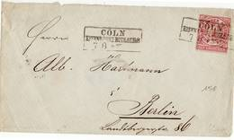 01047 GERMANY BERLIN COLN - Storia Postale