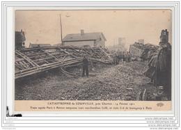 10238  FRD27 CPA CATASTROPHE DE COURVILLE 1911 - Altri Comuni