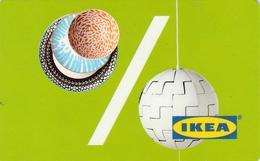 Carte Cadeau   ## IKEA  ESPAGNE 2017 ##    Gift Card, Giftcart, Carta Regalo, Cadeaukaart - Cartes Cadeaux