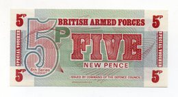 Regno Unito - Five New Pence - Forze Armate Britanniche - Nuova - Vedi Foto - (FDC15194) - Emissioni Militari