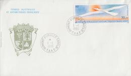 Enveloppe   FDC   1er  Jour   T.A.A.F   Oiseau  De  FOLON   1990 - FDC