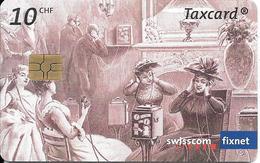 CARTE-PUCE-SUISSE-10CHF-Gem6-Se147-06/07-Le THEATROPHONE-TBE - Suisse