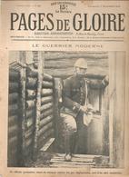 Militaria Pages De Gloire N°49 Du 7 Novembre 1915 Le Guerrier Moderne Un Officier Grenadier, Muni Du Masque - Français