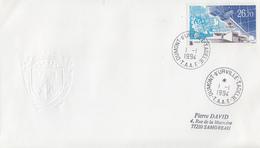 Enveloppe   FDC   1er  Jour   T.A.A.F   Station  Satellite  Du  CNES   1994 - FDC