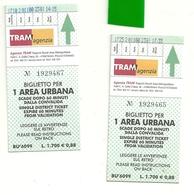 TRAM    AGENZIA  RIMINI 3  BIGLIETTI - Transporto