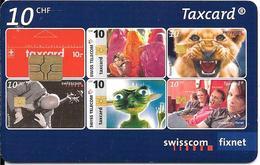 CARTE-PUCE-SUISSE-10CHF-Gem6-Se183A-09/08-25 ANS De LaTAXCARD-TBE - Suisse