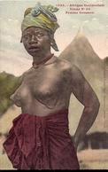1395 AFRIQUE OCCIDENTALE ETUDE N°24 FEMME SOUSSOU Collection Fortier Dakar ( Sierra Léone Guinée) - Cartes Postales