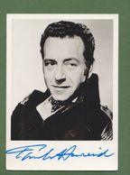 PAUL HENREID  AUTOGRAPHE / AUTOGRAMM  In Person Signed Photo 10 X 15 Cm - Handtekening