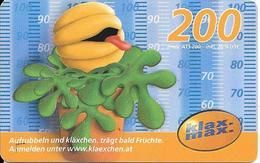 CARTE-PREPAYEE-AUTRICHE-200-2004/03-GRATTE-Plastic FinTBE - Autriche