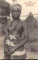 1367 AFRIQUE OCCIDENTALE ETUDE N°46 FILLE SOUSSOU Collection Fortier Dakar ( Sierra Léone Guinée) - Cartes Postales
