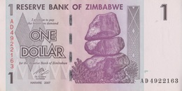 Zimbabwe / 1 Dollar / 2007 / P-65(a) / UNC - Zimbabwe