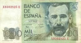 BILLET MIL PESETAS BANCO DE ESPANA  10/1979 - [ 4] 1975-… : Juan Carlos I