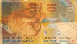 BILLET SUISSE DIX FRANCS  LE CORBUSIER - Suisse