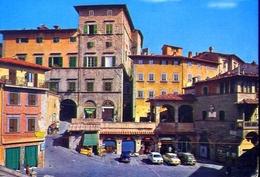 Cortona - Piazza Della Repubblica - Autovetture - Formato Grande Viaggiata – E 11 - Arezzo