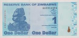 Zimbabwe / 1 Dollar / 2009 / P-92(a) / UNC - Zimbabwe