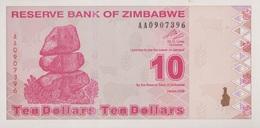 Zimbabwe / 10 Dollars / 2009 / P-94(a) / UNC - Zimbabwe