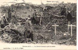 Cpa  La Guerre 1914-18  Environ De Lunéville La Côte De Léomont Après Le Combat. - Weltkrieg 1914-18