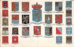 NEDERLAND Netherlands - Blazoen Armen Heraldiek / Blasons Armoiries Héraldiques - CPA - Holland Pays-Bas Hollande - Paesi Bassi
