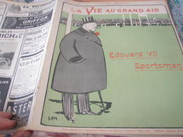 VGA/  EDOUARD VII SPORTSMAN/ SEM/ FOOT FRANCE ANGLETERRE /AUTO TOURAINE /LUTTE  /SKI CHAMONIX/LIONEL STRONGFORT - 1900 - 1949