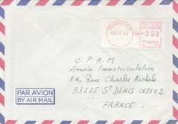 LSC 1982 - EMA 21.11.82  NOUMEA  R.P. - New Caledonia