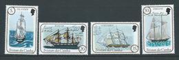 Tristan Da Cunha 1983 Sailing Ships II Set 4 MNH - Tristan Da Cunha