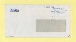 Greve De 1974 - Distribue Par Les Soins Du Groupe AS Travail Temporaire Pour Rendre Service A Sa Clientele - 13 Nov 1974 - Marcophilie (Lettres)